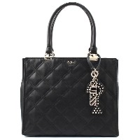 ゲス GUESS STATUS SOCIETY SHOPPER (BLACK) レディース