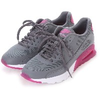 【SALE 30%OFF】ナイキ NIKE atomos NIKE W AIR MAX 90 ULTRA ESSENTIAL (COOL GREY/COOL GREY-FUCSIA FLASH)...
