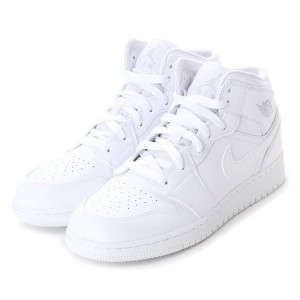 【SALE 10%OFF】ナイキ NIKE kinetics AIR JORDAN 1 MID BG (WHITE) レディース