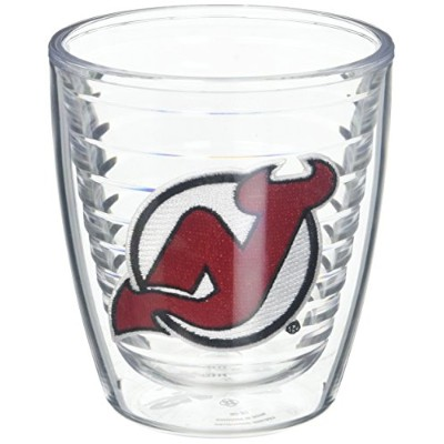 """Tervis 1045201"""" NHL New Jersey Devils """"タンブラー、12オンス、クリア"""