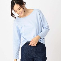 【SALE 70%OFF】コムサイズム COMME CA ISM バックリボン カットソー (サックス)