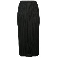 Pleats Please By Issey Miyake pleated mid-lenght skirt - ブラック