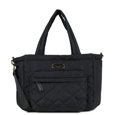 MARC JACOBS QUILTED NYLON TOTE マークジェイコブス トートバッグ バッグ マザーズバッグ レディース ブラック M0011380 [7/9 新入荷] [187]