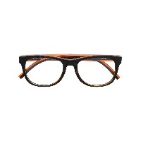 Tommy Hilfiger square glasses - ブラウン