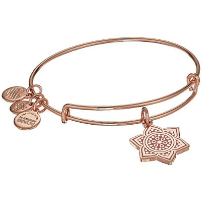 Alex and Ani Womens The Sacral Chakraバングル One Size ピンク