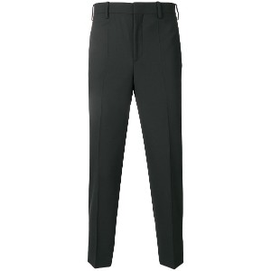 Neil Barrett pleated trousers - ブラック