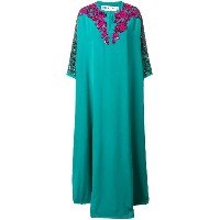 Emilio Pucci embellished kaftan dress - グリーン