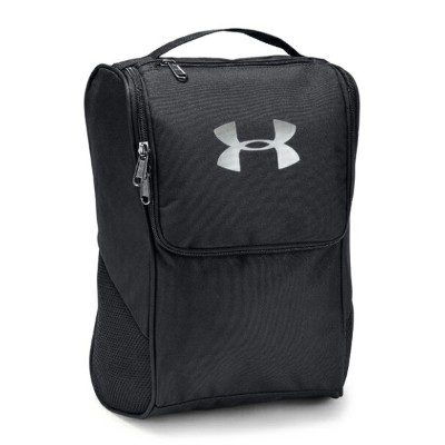 UNDER ARMOUR アンダーアーマー シューズバッグ UA SHOE BAG《1316577_001》【001】BLK/BLK/SIL【取り寄せ商品】