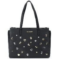 Love Moschino embellished tote bag - ブラック
