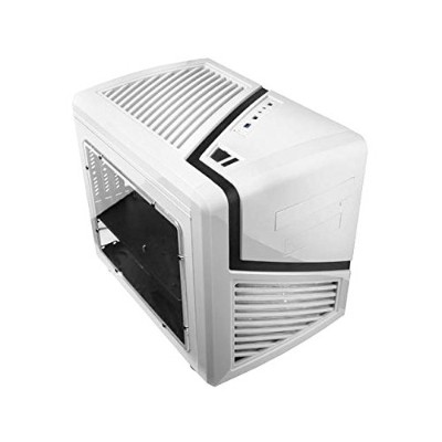 Apevia x-qber-wht Micro ATXキューブゲーム/ HTPCケース、サポートVGA最大320 mm / ATX PS、2 x Windows、Top usb3 . 0 /...
