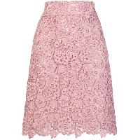Blumarine lace skirt - ピンク&パープル