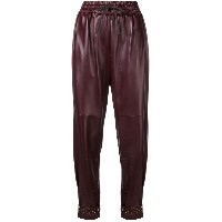Givenchy elasticated waist trousers - レッド