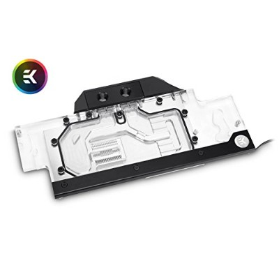 ek-fc GeForce GTX FE RGB – ニッケルメッキ銅水ブロックwith Plexi top for Nvidia Geforce GTXとタイタンPascalシリーズグラフィックカー...