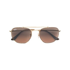Ray-Ban aviator style sunglasses - メタリック