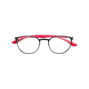 Ray-Ban round shaped glasses - レッド
