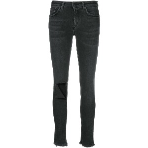 Dondup ripped knee jeans - ブラック