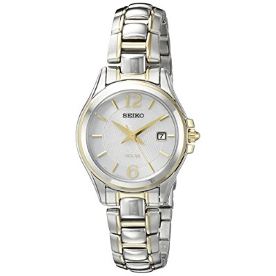 セイコー 腕時計 レディース SUT250 Seiko Women's SUT250 Solar Analog Display Japanese Quartz Two Tone Watchセイコー...
