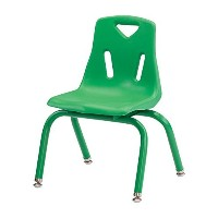 Offex Stack Children's Chair Green (OF-8118JC1119) [並行輸入品]