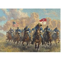 Called to Duty Buffalo Soldiers by Ezra Tucker Limited Edition Signed and Numbered