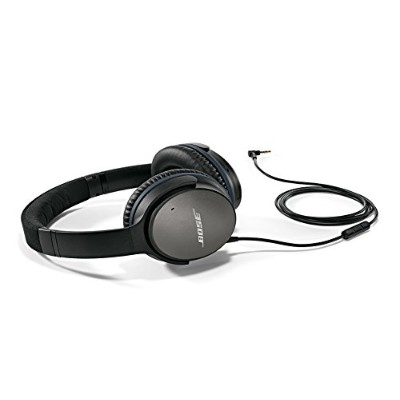 Bose QuietComfort 25 Acoustic Noise Cancelling Headphones for Apple devices - Black [並行輸入品]