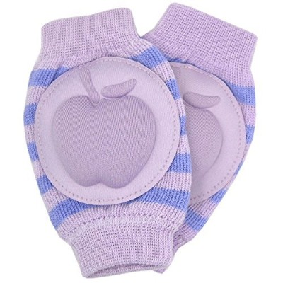 New Baby Crawling Knee Pad Toddler Elbow Pads 805523 Purple - Blue by YEAHINSHOP