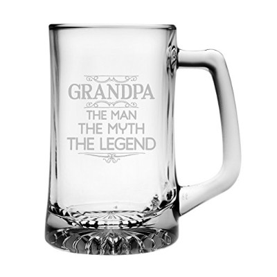 """おじいちゃん: The Man , The Myth、The Legend "" Beer Mug"