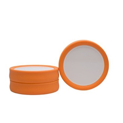 Tulid - Mason Jar Lids (Wide Mouth) - Reusable, leak-proof, BPA-free by Simpler Products