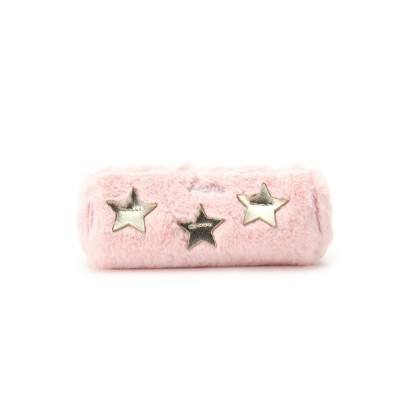 【SALE/30%OFF】PINK-latte フェイクファー×スターポーチ ピンク ラテ バッグ【RBA_S】【RBA_E】