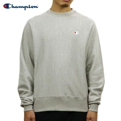 チャンピオン CHAMPION 正規品 メンズ スウェット REVERSE WEAVE HEAVYWEIGHT 12oz CREW SWEAT GF70 OXFORD GREY