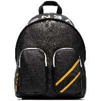 Givenchy reverse logo leather backpack - ブラック