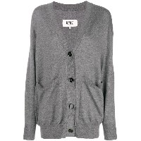 Mm6 Maison Margiela button front cardigan - グレー
