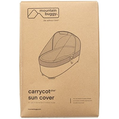 Mountain Buggy Sun Cover for Carrycot Plus for 2015 Swift and Mb Mini Strollers by Mountain Buggy