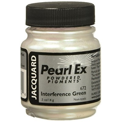 Pearl Ex Pigment .5 Oz Interference Green by Jacquard