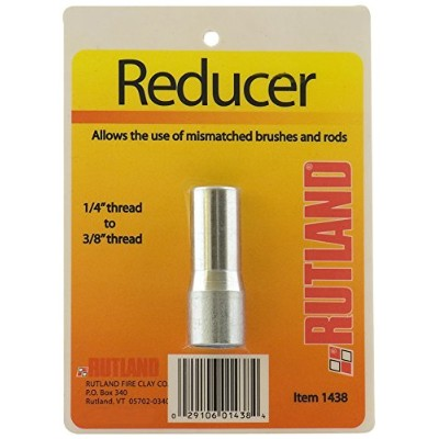 Rutland 1438 1/4 inch to 3/8 inch NPT Adapter