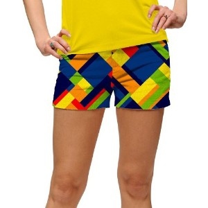 LoudMouth Ladies Block Island StretchTech Mini Shorts【ゴルフ レディース>パンツ】