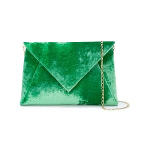 Tyler Ellis Lee Pouchet large clutch - グリーン