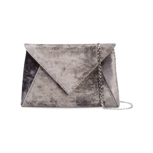 Tyler Ellis Lee Pouchet large clutch - グレー