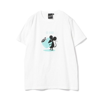 BEAMS T 【SPECIAL PRICE】BEAMS T / Shadow Graphic So Good Tee ビームスT カットソー