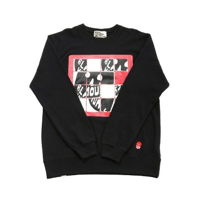 【SALE/46%OFF】BEAMS T BLACK HUMOURS by Jody Barton / Sliding Puzzle Crew Sweat ビームスT カットソー【RBA_S】...