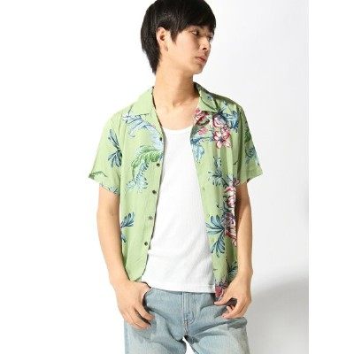 【SALE/50%OFF】291295=HOMME 291295=HOMME/総柄レーヨンプリント トランジション シャツ/ブラウス【RBA_S】【RBA_E】【送料無料】