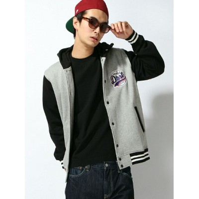 【SALE/30%OFF】DOUBLE STEAL SWEAT HOOD STADIUM JACKET ダブルスティール コート/ジャケット【RBA_S】【RBA_E】【送料無料】