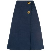 "Tory Burch ""marine"" A-line skirt - ブルー"