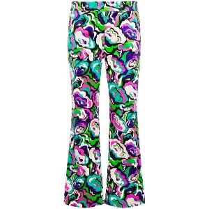 Emilio Pucci cropped flared trousers - グリーン