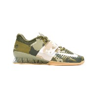 Nike camouflage lace-up sneakers - グリーン