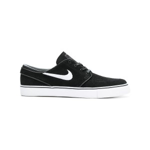 Nike logo lace-up sneakers - ブラック