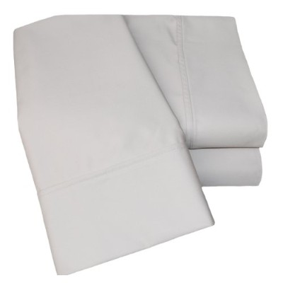 (Stone, Euro King/Ikea King) - Superior 1000 Thread Count Deep Pocket and Wrinkle Resistant 4-Piece...