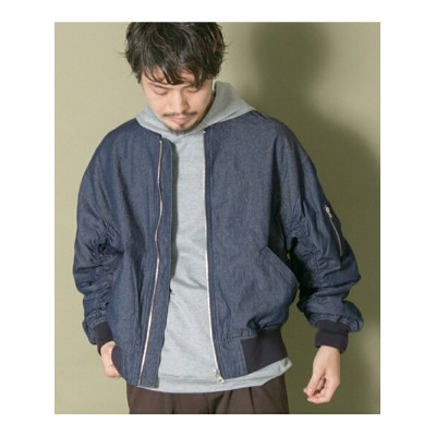 [Rakuten BRAND AVENUE]【SALE/40%OFF】URBAN RESEARCH iD DENIM OVER MA-1 URBAN RESEARCH アーバンリサーチ コート...