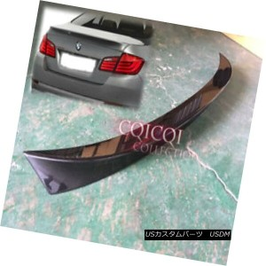 USA Stock 11-16 F10 ABS Trunk Spoiler Painted Alpine White #300