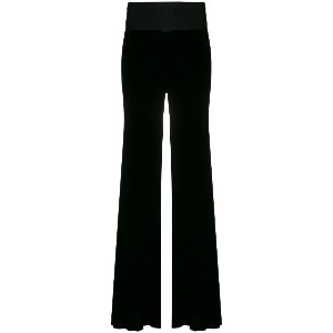 Rick Owens flared trousers - ブラック