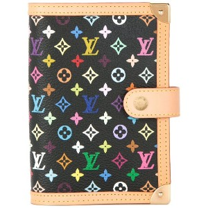 LOUIS VUITTON PRE-OWNED Agenda PM ノートカバー - ブラック